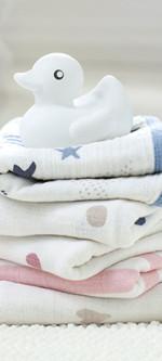 Aden + Anais Washcloth Set – Heartbreaker (3-Pack)