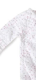 Aden + Anais Long Sleeve Kimono Body Suit – Lovely Mini Hearts