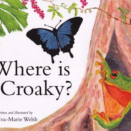 Eva Books Where Is Croaky?