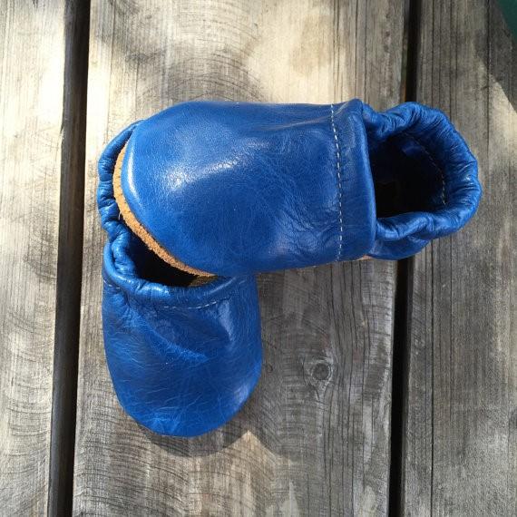 Starry Knight Loafers - Ocean Blue