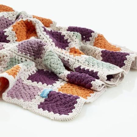 Samana Granny Square Blanket