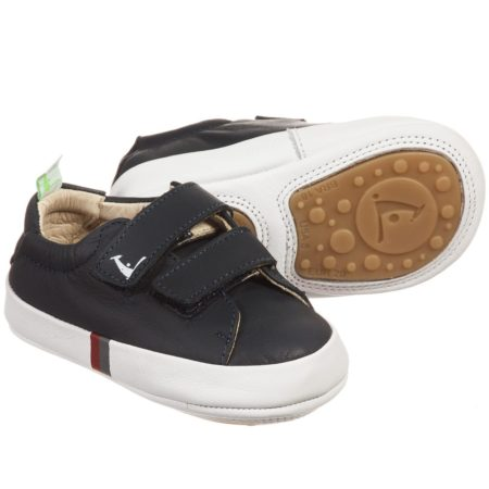 Tip Toey Joey New Flashy Shoes - Navy/White