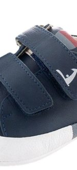 Tip Toey Joey New Flashy Shoes – Navy/White