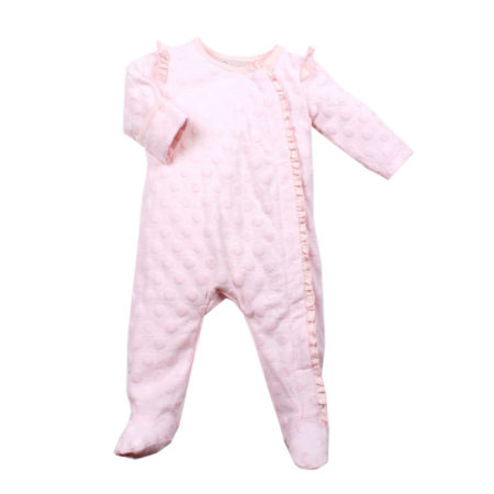 BEBE S/16 Piper Long Sleeve Front Zip Romper