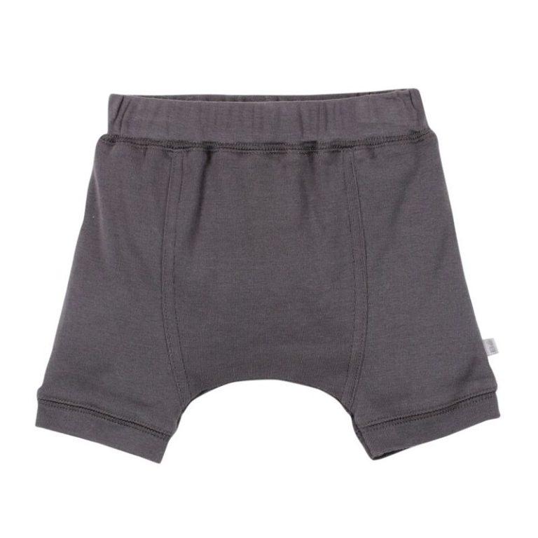 BEBE summer 2016 Bailey cotton jersey drop crotch shorts