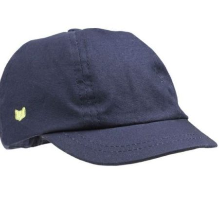 Fox and Finch Boys cap Bright navy