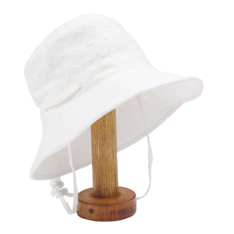 Fox & Finch Sun Hat - Orlando Swiss Dot