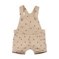 Fox & Finch Panama Bug Print Overalls