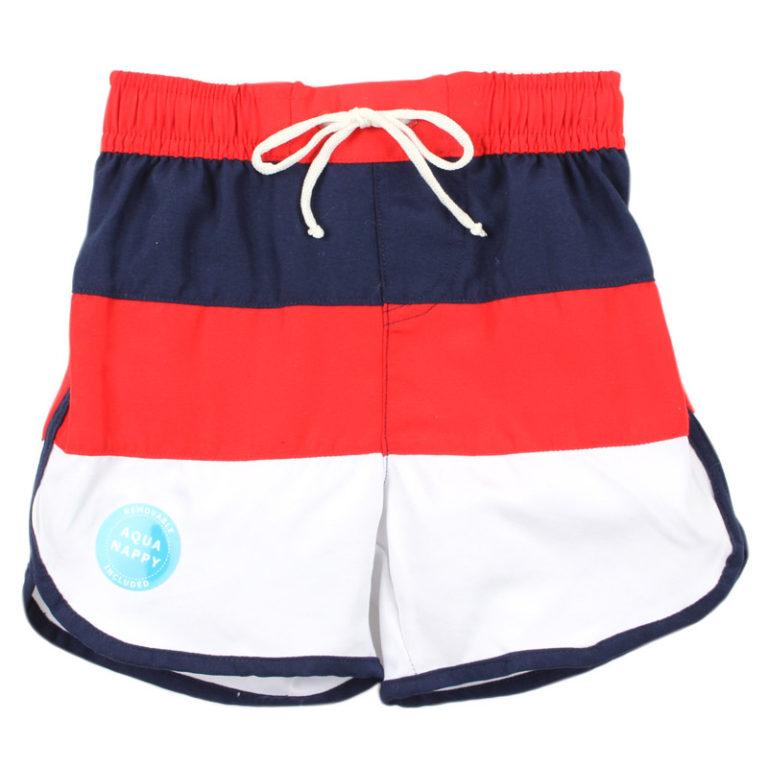 BEBE Spliced Board Shorts