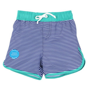 BEBE Stripe Board Shorts