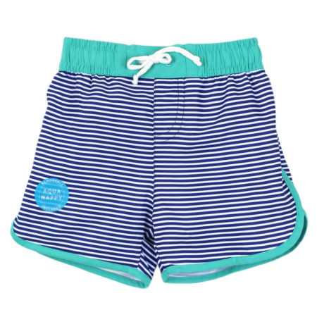 BEBE Stripe Board Shorts