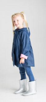 French & Soda – Raincoat – Girls Navy