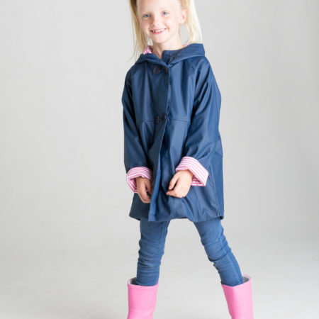 French & Soda - Raincoat - Girls Navy