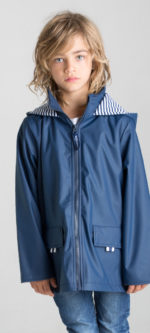 French & Soda – Raincoat – Unisex Navy