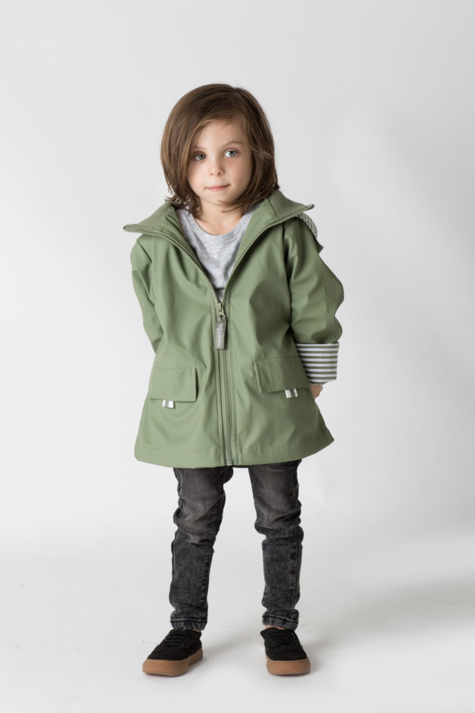 French & Soda - Raincoat - Unisex Khaki