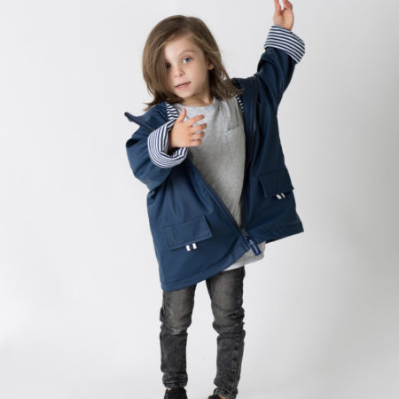French & Soda - Raincoat - Unisex Navy