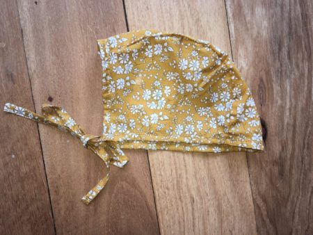 Anne Winter Bonnet in Liberty Fabric