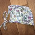 Anne Winter Bonnet in Liberty Fabric