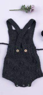 Frankie – bib and brace Romper
