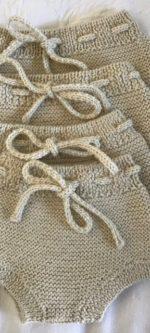 garter stitch bloomers
